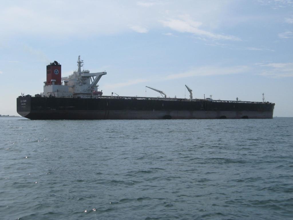 Singapore shipping lanes
