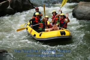 white water rafting chiang rai