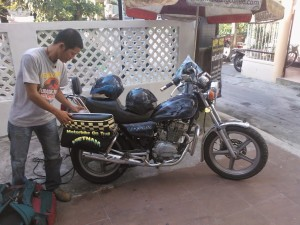 Hi Van pass motorbike tour