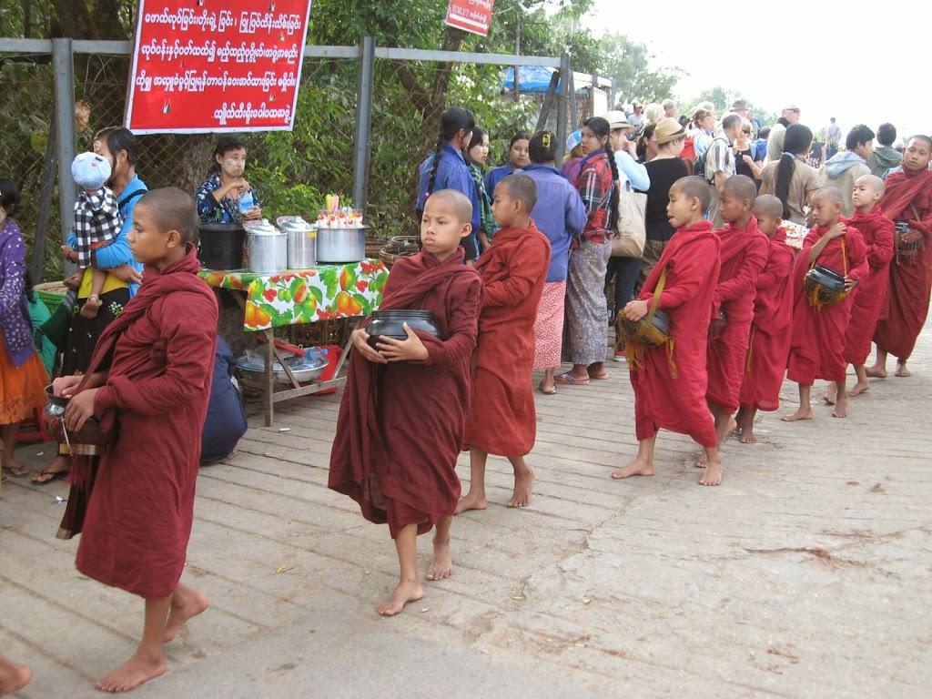 Little Monks at Golden Rock Kinpun