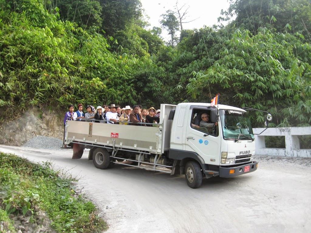 Truck racing at Golden Rock Kinpun