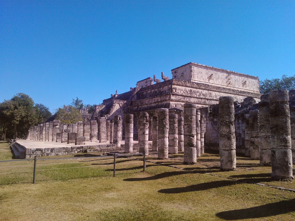 Temple Of Warriors - Chichen Itza