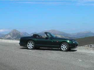 SimonTheSailor's TVR Chimaera car