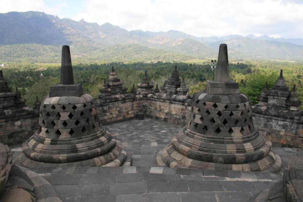 Stupas Borobudur