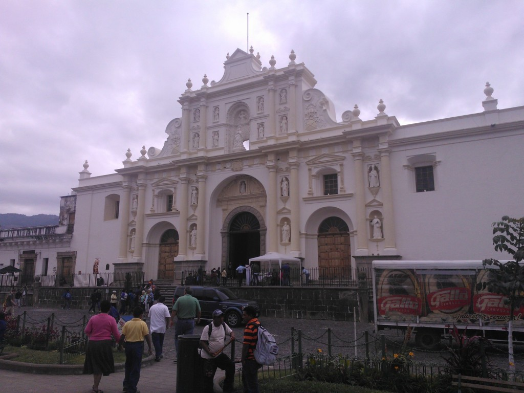 Cathederal of San Jose antigua guatemala