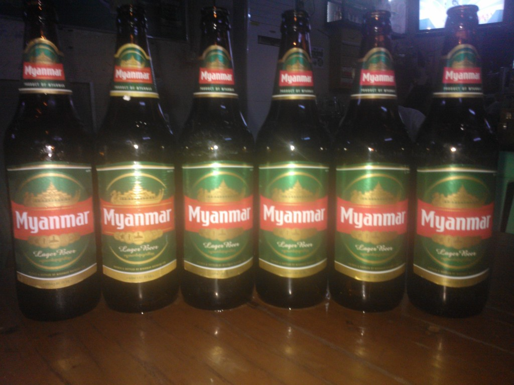 beers of myanmar