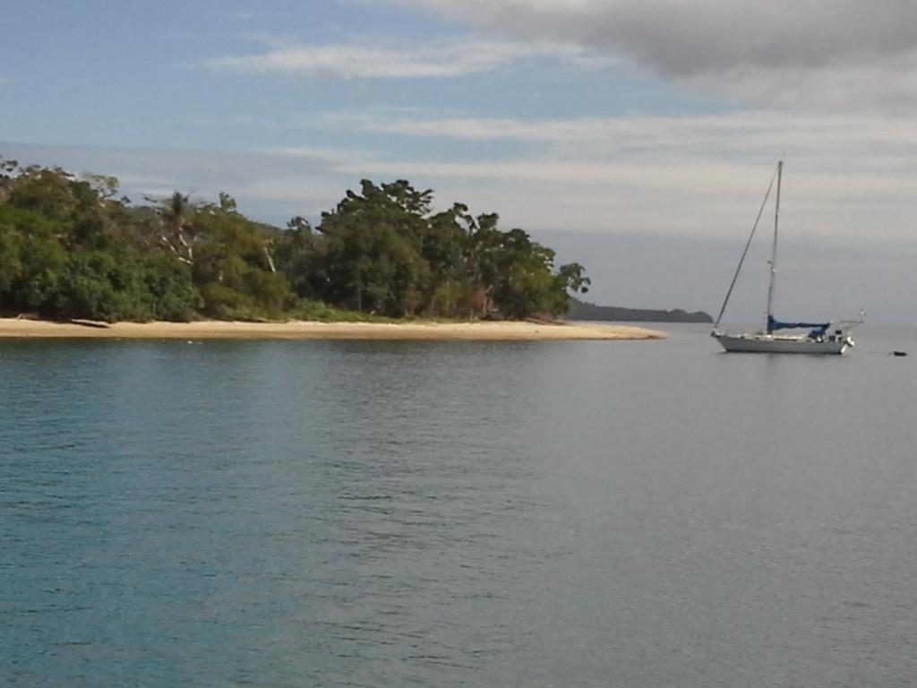 Havannah harbour anchorage
