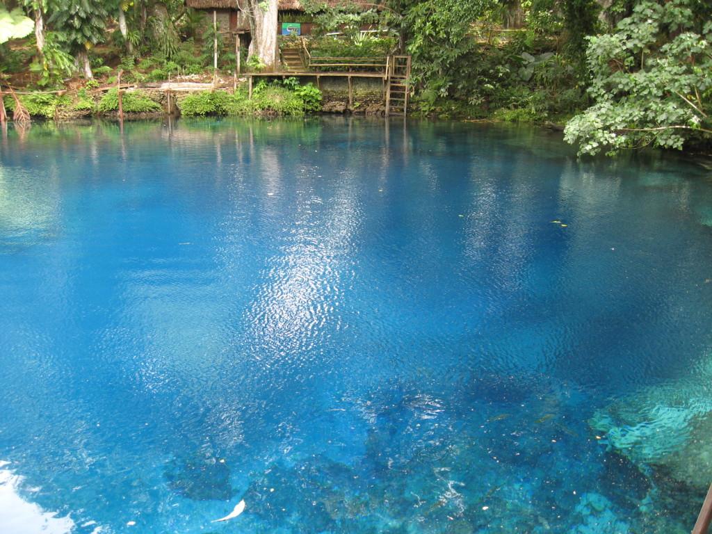 Blue hole luganville vanuatu