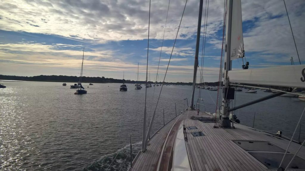 Entering chichester harbour