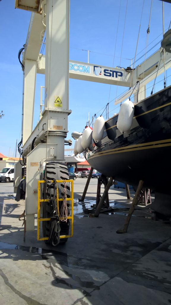 Boat yard stp