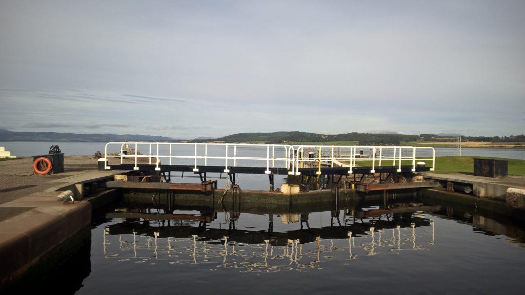 Caledonian canal scotland
