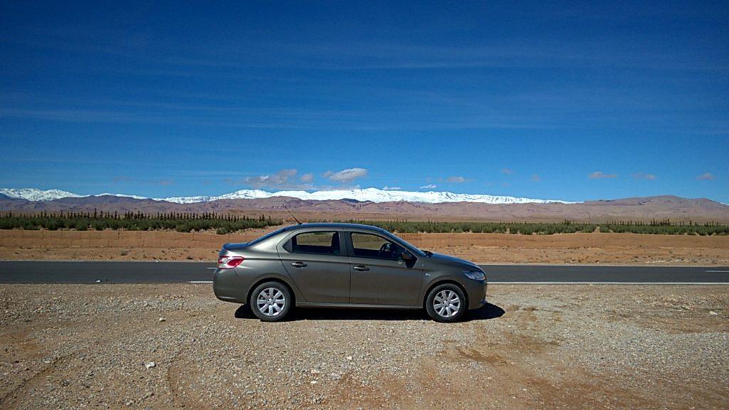 Overland morocco high atlas mountains