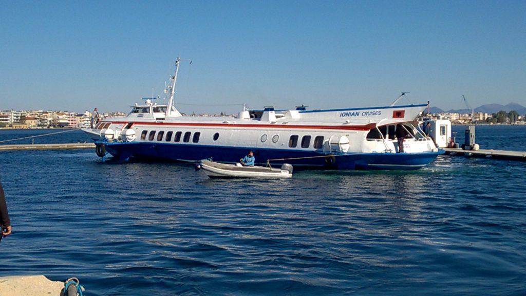 Flying dolphin preveza greece