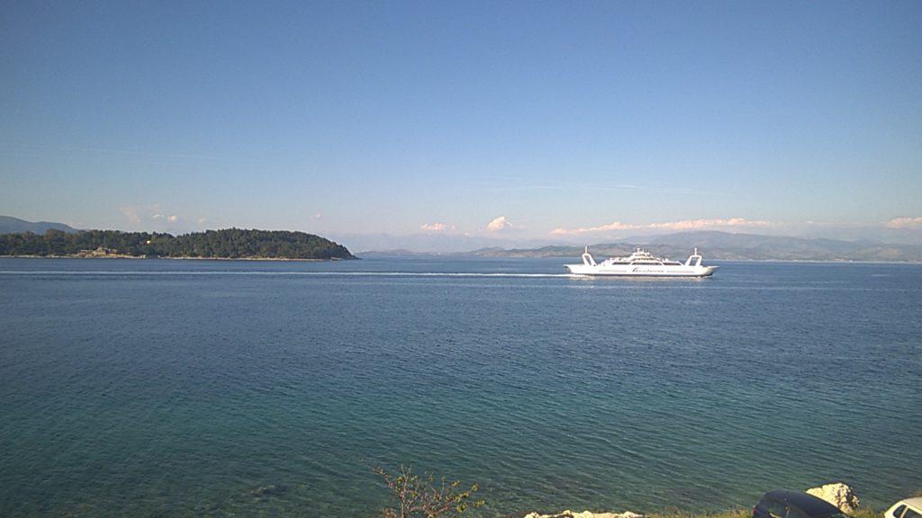 Corfu to igoumenitsa crossing